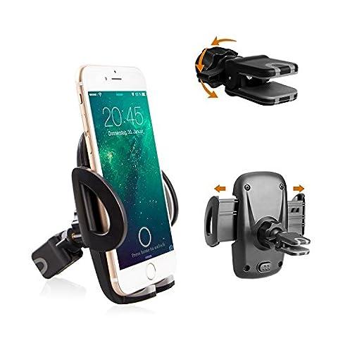 Avoalre iPhone Halter Handyhalter Auto KFZ Handyhalterung Galaxy Halter Autohalterung