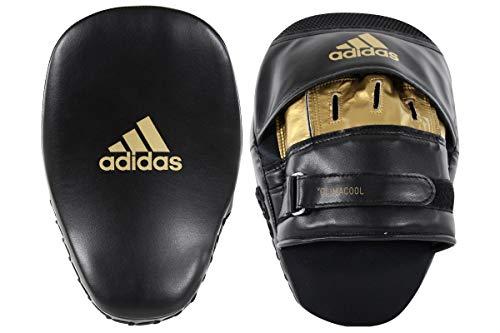 adidas Training Curved Focus Mitt Short Pratzen schwarz/Gold, 26 x 18 x 9 cm