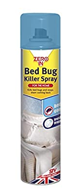 Zero In Bed Bug Killer Spray - 300ml Aerosol - inexpensive UK bed store.