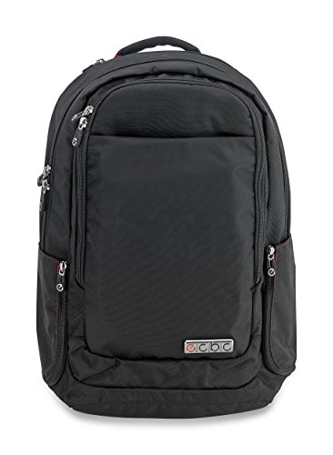 "ECBC Backpack Computer Bag - Harpoon Daypack for Laptops, MacBooks & Devices Up to 16.5"" - Travel, School or Business Backpack for Men & Women - Premium Quality, Lightweight Design - Black (B7101-10)"