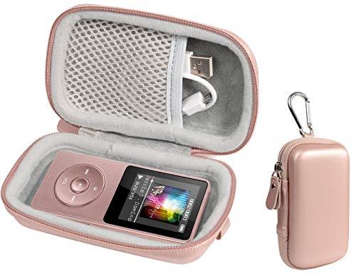 Schutzhülle für kabellose Ohrhörer wie Sony WF1000X/BM1, SOL Republic Amps und MP3-Player wie AGPTEK A01T, U1, B03, C3, Rocker V2, Iyzer 16GB, Grtdhx 16GB, Wrcibo 8GB, Mahdi, Dansrue V2 Mp3