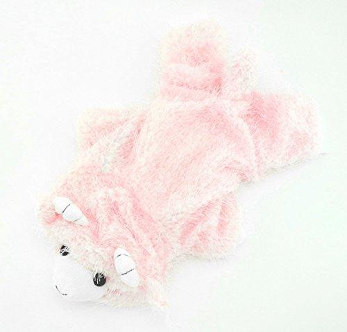 zunea Pet Apparel klein Hund Katze Kleidung Winter Plüsch Fleece Goat Halloween-Kostüm Party (Baby Puppy Plüsch Kostüme)