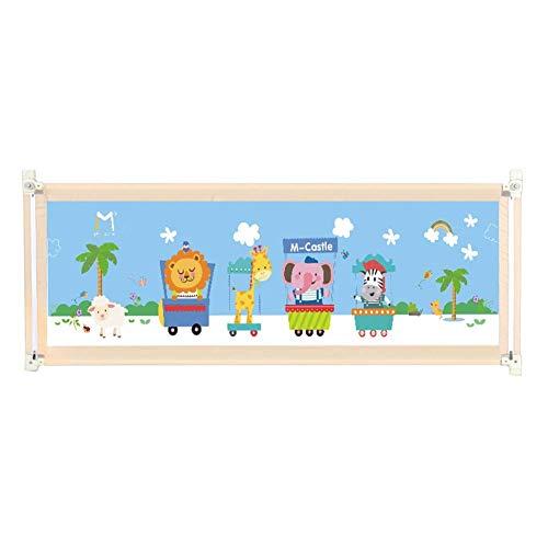 gitter Bettschutzgitter, Vertikaler Aufzug Kinderbettschutz, Für Kleinkind Kinder Twin, Doppel, Full Size Queen/King-Matratze (Color : Beige, Size : 180cm) ()