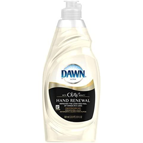 Dawn Ultra Dish Liquid with Olay, Tropical Shea Butter Scent,