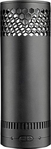 808audio HEX SL SP | Mobiler Wireless Bluetooth-Lautsprecher mit bis zu 8 Stunden Akku-Laufzeit | AUX-Eingang, kompaktes Design & satter 360° Sound - schwarz