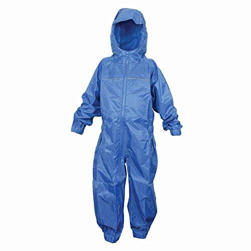 Dry Kids Waterproof Rainsuit Royal Blue 1yr