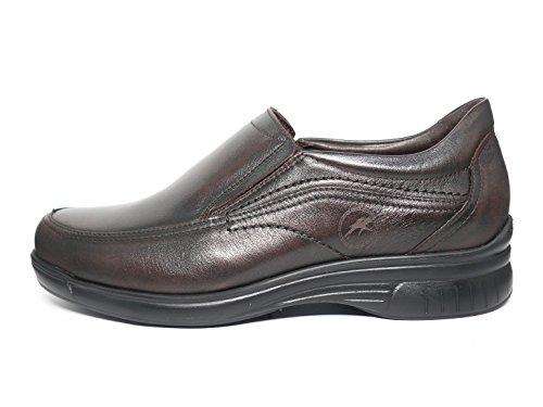 Chaussures Homme Fluchos type mocassin-Disponible en marron et noir-7781-62et 74 Marron