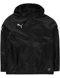 Puma Kids Boys Essentials Core Rain Jacket Junior Coat Top Long Sleeve Windproof