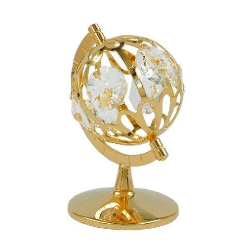 Globus mit Glas-Steinen 70212 (Globus Hexe)