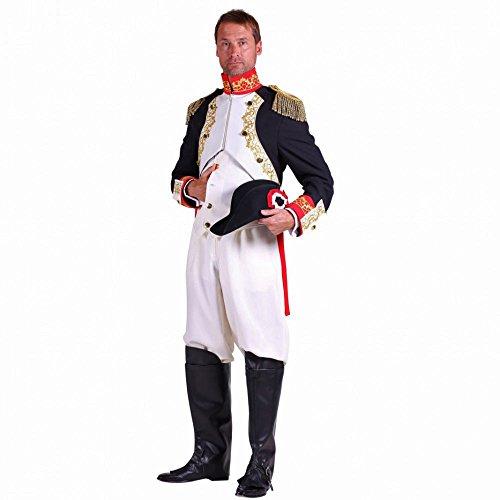 Kostüm Napoleon - Thetru Kostüm General Napoleon Uniform Französischer Kaiser Fasching (M)