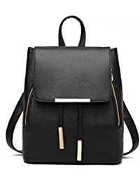 d5b731d300 FOLLOWUS Girls Ladies Backpack Fashion Shoulder Bag Rucksack PU Leather  Travel bag