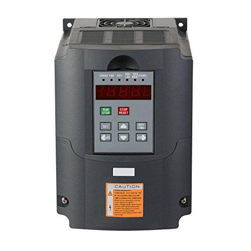 BuoQua 1,5KW Frequenzumrichter VFD 2HP Frequenzwandler Inverter Antrieb Mit Vektorregelung