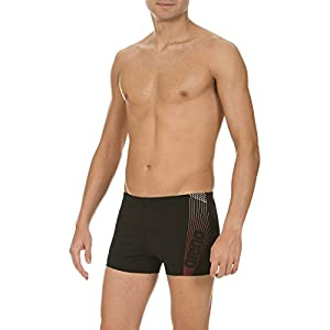 arena Herren Badehose Compass, Black/Red/White, 8, 1A779
