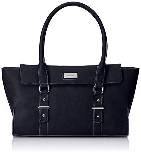 s.Oliver (Bags) Damen Baguette, Schwarz (Black 9999), 43x21x9 cm