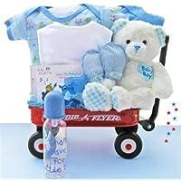 All Boy Baby Wagon by Baby Gift Basket (Boy Wagon)