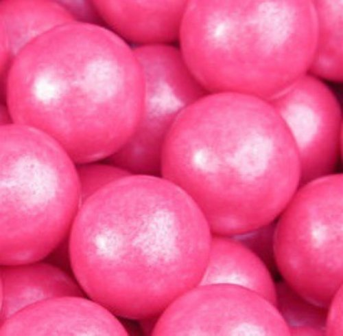 shimmer-pearlescent-bright-pink-1-inch-gumballs-1-pound-by-the-nutty-fruit-house