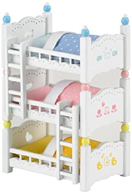 Sylvanian Families Triple Bunk Beds - inexpensive UK Bunkbed store.