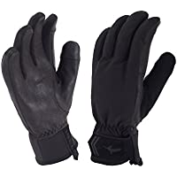 Seal Skinz All Season Guantes, Mujer, Negro y Gris, Medium