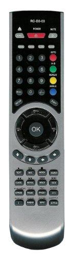 Original Remote Control RC-D3-03 for TV LCD TECHNIKA, Medion, Salora