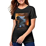 Photo de The Alan Parsons Project Stylish Woman Pattern Short Sleeve Tshirts Black par Zadanly