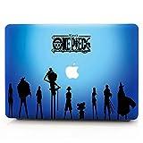 AQYLQ MacBook Schutzhülle/Hard Case Cover Laptop Hülle [Für MacBook Pro 13 Zoll – mit CD-Laufwerk: A1278], Ultradünne Matt Plastik Hartschale Tasche Schutzhülle, HZW-12 Pirat