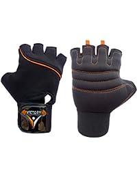 Victory Neo - 02 Skin Fit Gym & Fitness Glove (Orange)