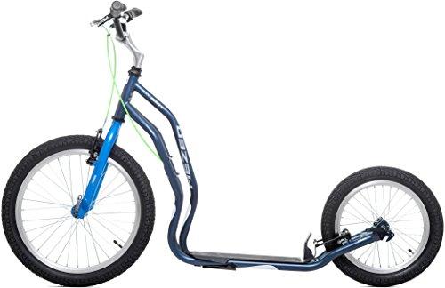 Preisvergleich Produktbild Scooter Tretroller Dogscooter Yedoo Mezeq V-Brake New 20 / 16 Zoll blau / grau City-Scooter Roller