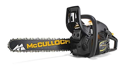 McCulloch 00096-66.317.18 CS450 Elite Motosierra de gasolina con motor de 2000 W de potencia, longitud...