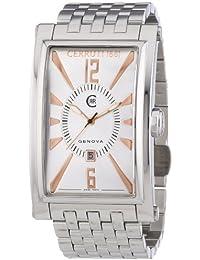 Cerruti CRB004A211C - Reloj de cuarzo para hombres, color plata