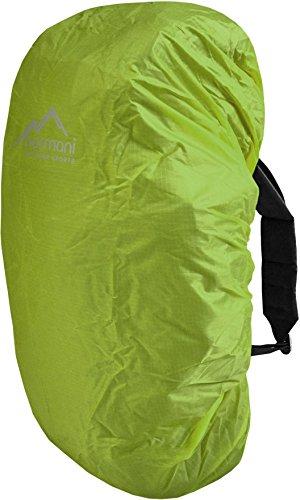 wasserdichter Regenueberzug Raincover Regenhülle für Backpacks Rucksack Farbe Limette Größe 20-35 Liter