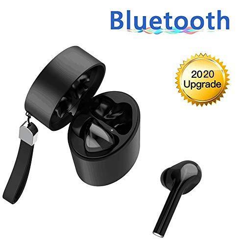 auricolari bluetooth 5.0, cuffie senza fili ipx5 impermeabile airpods android/iphone wireless cuffie sport con microfono hd/hi-fi 3d stereo sound, touch control & custodia di ricarica