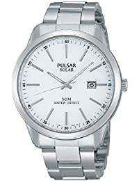 Pulsar Herren-Armbanduhr XL Modern Analog Quarz Edelstahl PX3019X1