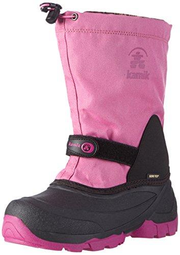 Kamik Waterbug 5G Kinder Schneestiefel, Pink EU39 (Schuhe Rosa Eis-kinder)
