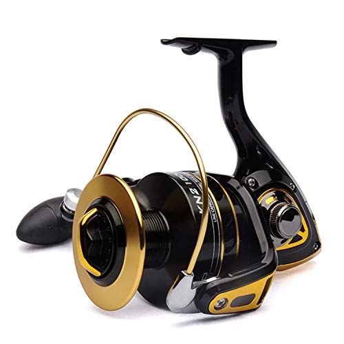 Small Rivulet Angeln Spinning Reel 2 10000 Big Game Reel 10 + 1BB Frontbrems Offshore Angelgeräte, 11,10000 Series (Reel Spinning Offshore)