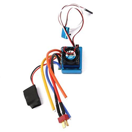 120a Esc Regolatore Di Velocità Brushless Sensored Per 1/8 1/10 Auto / Camion Cingolo