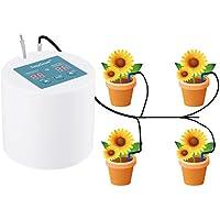Easygrow Sistema de Riego Automático, Dispositivo de Riego AutomáticoTemporizador de agua inteligente de 30 días, para uso en interiores Plantas en maceta