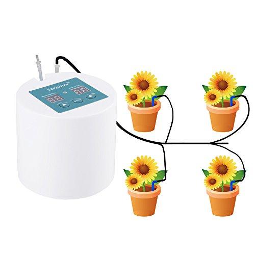 Rolle Tropfbewässerung Kit, Pflanzen Wasser Gießkanne, Timer, selbst Bewässerungssystem, Everyday gießzeit, bewässern Intervall Zeit Einstellung, für Innen Topfpflanzen