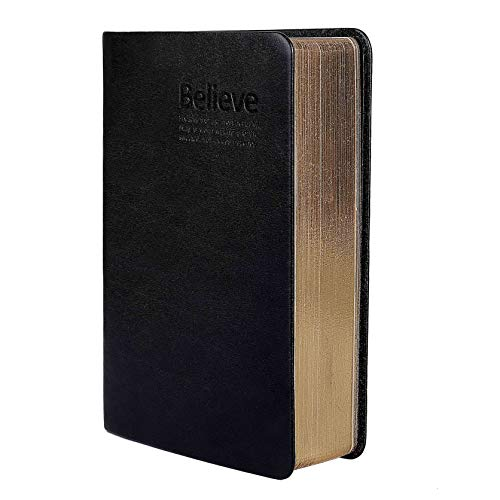 Fairy Season Notizbuch, Kunstleder-Einband, dickes unbedrucktes Papier - Cover Bible Classic Book