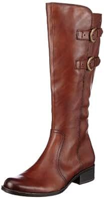 Caprice Kania-B-1K-1 9-9-25524-21 331 9-9-25524-21, Damen Stiefel, Braun (Cognac Antic), EU 42