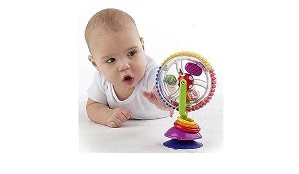 Fisher Price Spin N Play Spielzeug mit Saugnapf Hochstuhl Kinder Baby