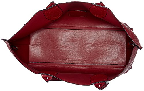 L.Credi - Maxima, Borse a spalla Donna Rosso (Rot)