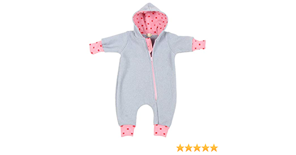 """56//62-116//122 Lilakind/"""" Baby Wollwalk Overall Einteiler mit Kapuze Walkloden Walkoverall Rostrot Rosa Gr/ün Gr Made in Germany"""
