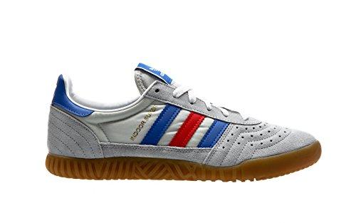 adidas Indoor Super, Scarpe da Fitness Uomo, Vari Colori (Onicla/Azul/Rojo 000), 38 EU
