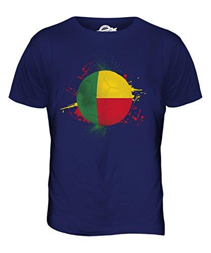 CandyMix Benin Fußball Herren T Shirt Navy Blau