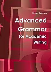 Advanced Grammar For Academic Writing