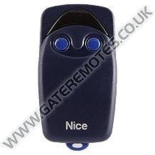 Nice Flo FLO2 telecomando originale 2 tasti 433,92 Mhz codice fisso sostituisce anche radiocomandi FLO1 - Very VE apricancello
