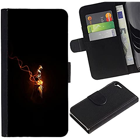 // PHONE CASE GIFT // Moda Estuche Funda de Cuero Billetera Tarjeta de crédito dinero bolsa Cubierta de proteccion Caso Apple Iphone 5 / 5S / Assassins Cred /