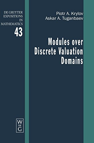 Modules over Discrete Valuation Domains (De Gruyter Expositions in Mathematics, Band 43)