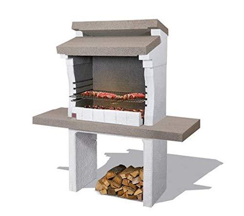 Sarom barbecue in muratura 'sondrio' cm 140x59xh147,5