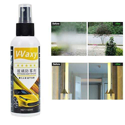 Aufkleber und Klebereste Entferner Reiniger, Klebstoffentferner Kunststoff Fenster Reiniger, Entfernen von Klebstoff- und Ölflecken, Rückspiegel Wasserdicht, Auto Glas Polieren, 150 ml (A) -